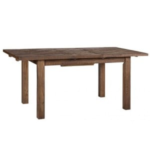 Vancouver Sawn Old Oak Large Rectangular Extending Dining Table 180cm