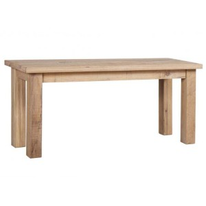 Vancouver Sawn Solid Oak White Wash Large Dining Bench