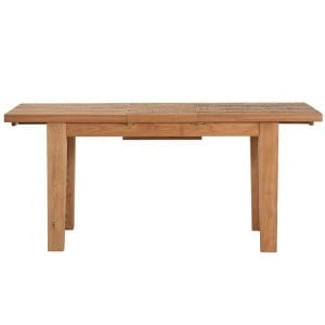 Vancouver Sawn Solid Oak Furniture 140-180cm Extending Dining Table
