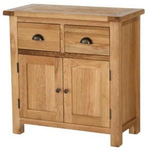 Vancouver Select Oak Furniture 2 Drawer 2 Door Buffet Sideboard