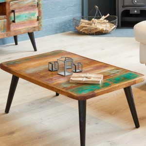 Coastal Chic Reclaimed Wood Furniture Coffee Table