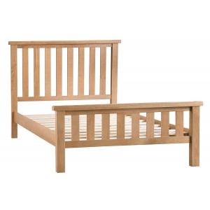 Colchester Rustic Oak Furniture 5ft King Size Bed