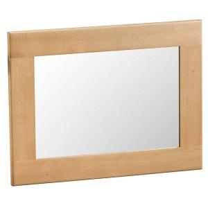 Colchester Rustic Oak Furniture Small Wall Mirror