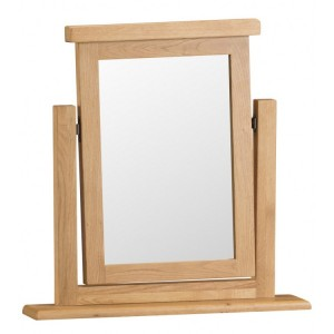 Colchester Rustic Oak Furniture Vanity Mirror