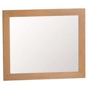 Colchester Rustic Oak Furniture Large Wall Mirror