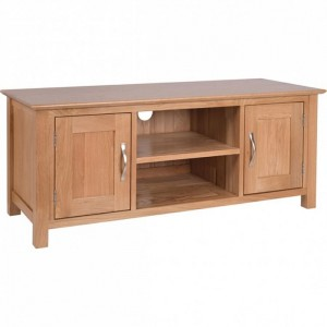 Devonshire New Oak Furniture Large TV Cabinet