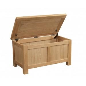 Devonshire Dorset Oak Furniture Blanket Box