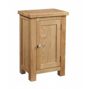 Devonshire Dorset Oak Furniture 1 Door Bedside Cabinet