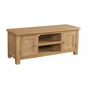 Devonshire Dorset Oak Furniture Large TV Unit