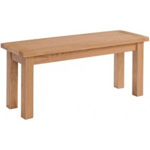 Devonshire Avon Oak Furniture Medium Bench 104cm