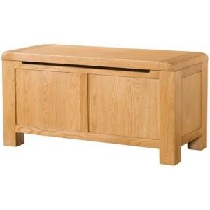 Devonshire Avon Oak Furniture Blanket Box