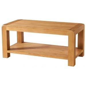 Devonshire Avon Oak Furniture Coffee Table With Shelf