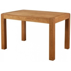 Devonshire Avon Oak Furniture Fixed Top Dining Table 120 x 80