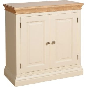 Lundy Painted Oak Furniture 2 Door Cabinet