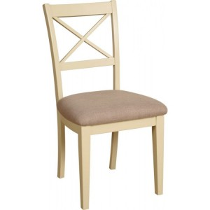 Lundy Painted Oak Furniture Cross Back Dining Chair