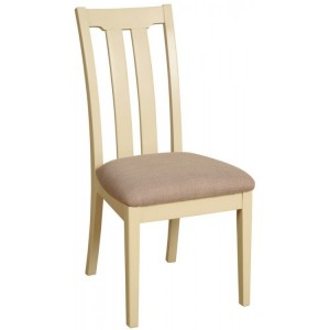 Lundy Painted Oak Furniture Slat Back Dining Chair