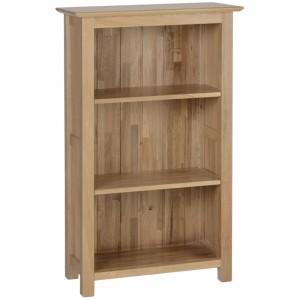 Devonshire New Oak Furniture 3ft Narrow Bookcase