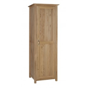 Devonshire New Oak Furniture Single Wardrobe