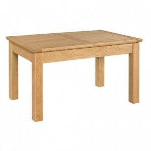 Devonshire Siena Oak Furniture Butterfly Small Extending Dining Table