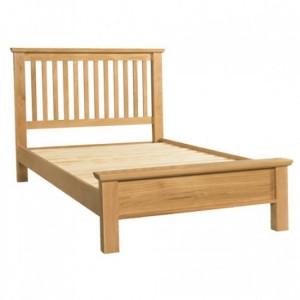 Devonshire Siena Oak Furniture Double Bed 4ft6