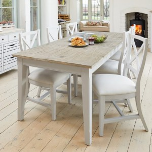 Signature Grey Extending Dining Table & Chairs Set