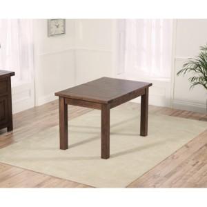 Rustique Dark Oak Furniture 120cm Extending Dining Table