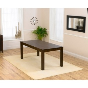 Verona Dark Oak Furniture 180cm Dining Table