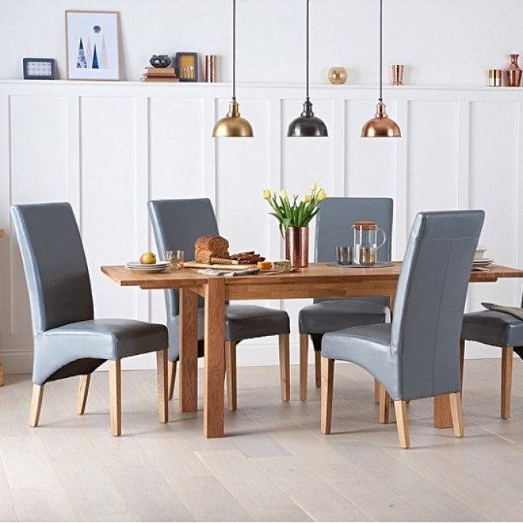 Extending Oak Dining Sets
