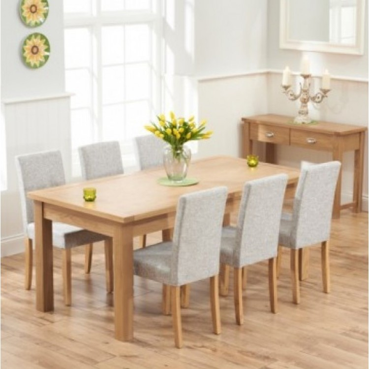 Large Oak Dining Sets