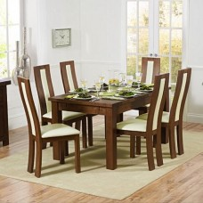 Medium Dark Wood Dining Sets