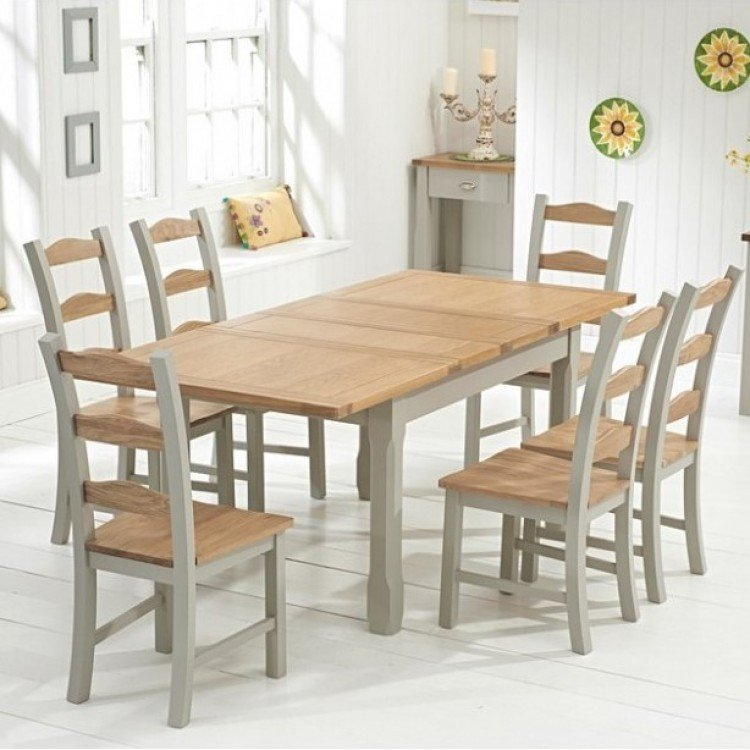 Medium Painted Dining Sets