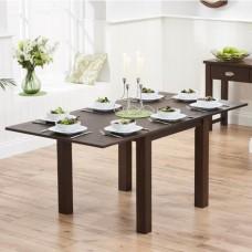 Extending Dark Wood Dining Tables