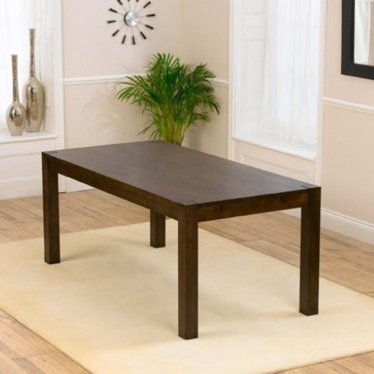 Medium Dark Wood Dining Tables