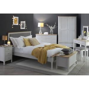 Manor House Stone Grey Double 4ft6 Bedroom Set