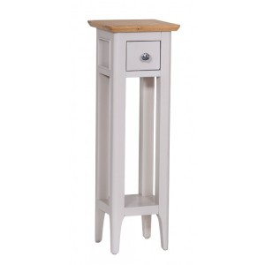 Manor House Stone Grey Painted Furniture Plant Stand