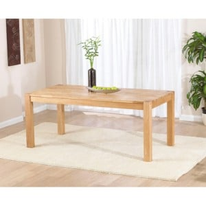 Verona Oak Furniture Dining Table 180cm