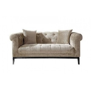 Besp-Oak Contemporary Sofas Harlow Tufted 2-Seater Sofa
