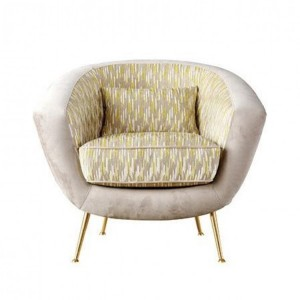 Besp-Oak Contemporary Sofas Bardot Cushioned Lux Chair