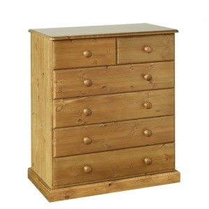 Devonshire Torridge Pine Furniture 2 Over 4 Chest Of Drawers