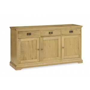 Bentley Designs Provence Oak Furniture Wide Sideboard