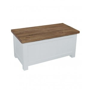 Fairford White Painted Furniture  Storage Box