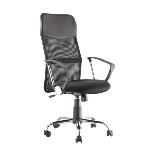 Orlando Black Mesh High Back Office Chair