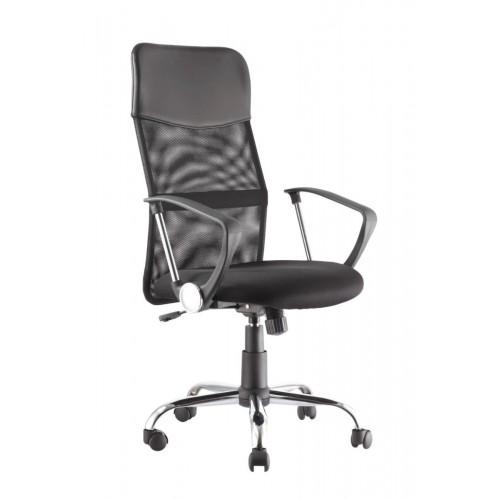 Alphason Office Furniture Orlando Black Mesh Fabric Office Chair