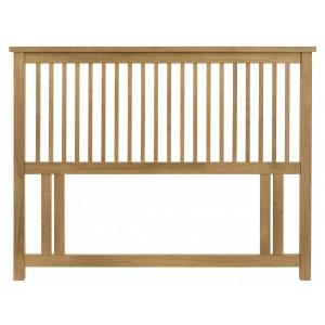 Atlanta Oak Furniture Double 4ft 6 Headboard