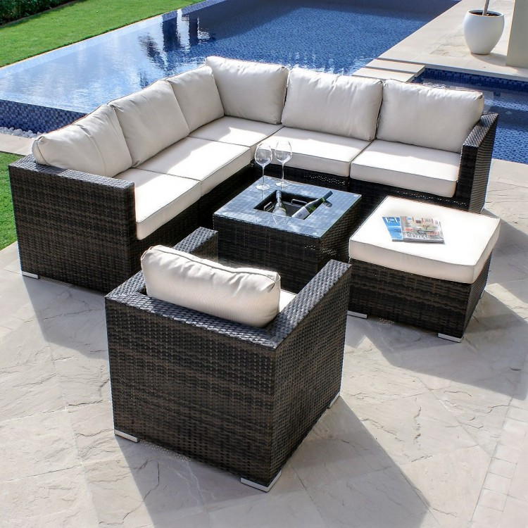 Rattan Corner Sofa & Lounge Sets