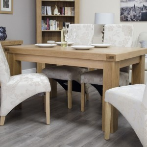 Bordeaux Solid Oak Furniture 5ft x 3ft Dining Table