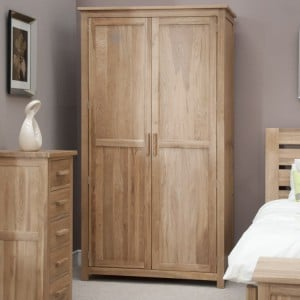 Homestyle Opus Solid Oak Furniture Ladies Wardrobe