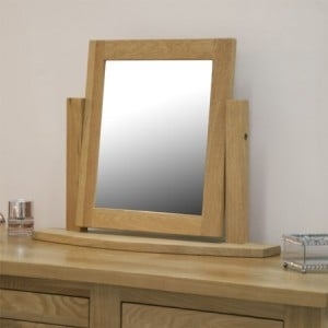 Homestyle Opus Solid Oak Furniture Dressing Table Mirror