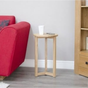 Homestyle Opus Solid Oak Furniture Round Occasional Table