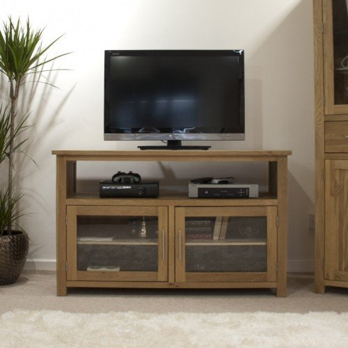 Homestyle Opus Solid Oak Furniture Entertainment TV Unit